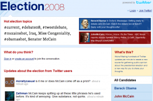 election2008 300x198 Twitters New Election 2008: Twitter Branding At Its Best