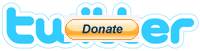Twitter logo donate1 3 Million Dollars, Dell And A PayPal Donate Button
