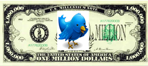 1million Twitter Dollar 5 Corporate Brands With 1 Million Or More Followers On Twitter