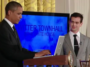 Twitter Town Hall2 300x224 Twitter Town Hall Gives President Barack Obama More Social Media Cred