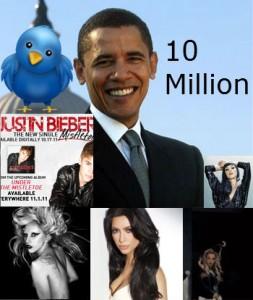 Barack 10million 253x300 Twitter 10 Million Follower Club: Barack, Britney, Katy & Kim