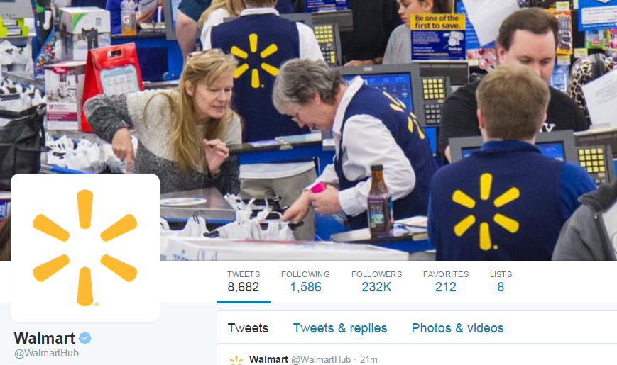 walmart Pay or Not Pay For Twitter Verified Accounts